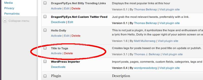Titles to Tags Plugin WordPress, Download, Install