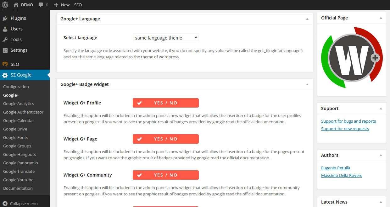 Google for WordPress Plugin WordPress