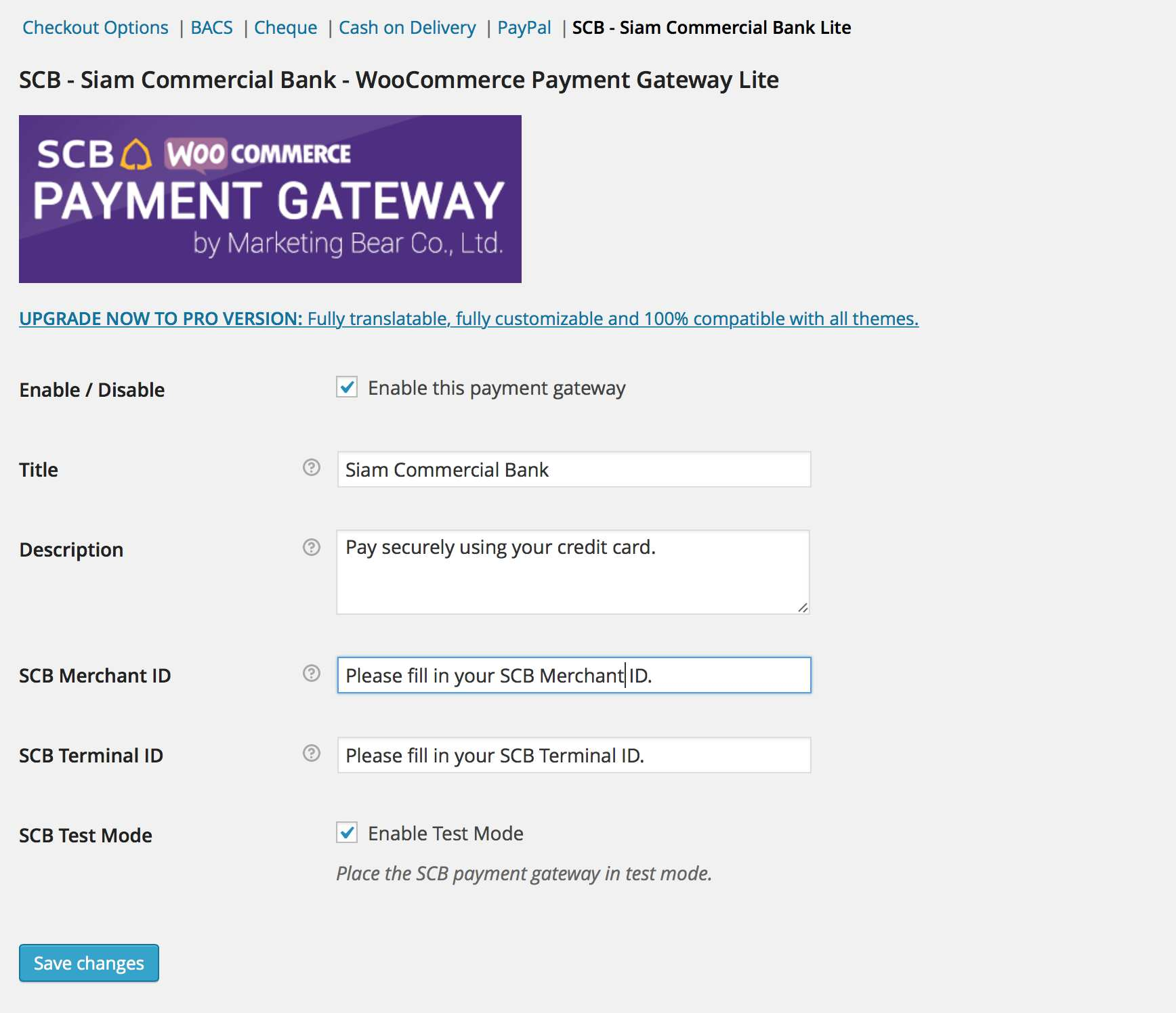 WooCommerce Payment Gateway – SCB Lite Plugin WordPress, Download, Install
