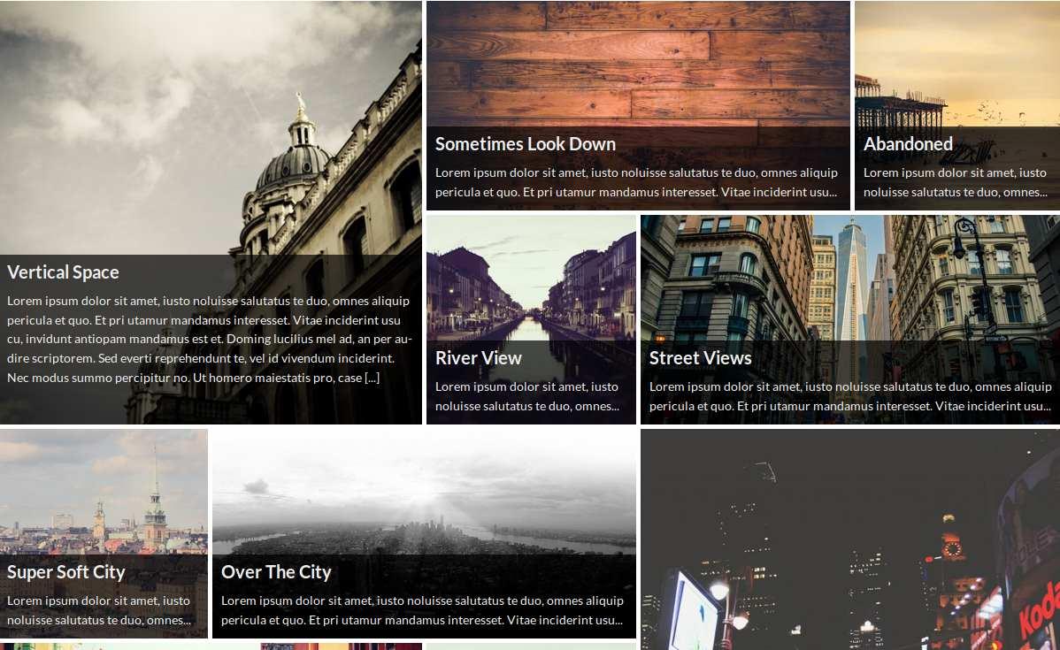 WP Tiles Plugin WordPress