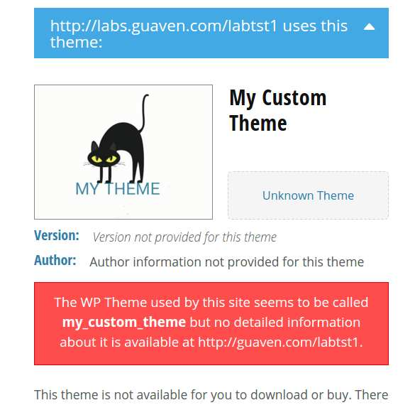 Hide Your Theme Name Plugin WordPress
