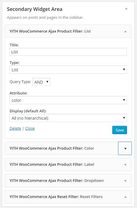 YITH WooCommerce Ajax Product Filter Plugin WordPress, Download, Install