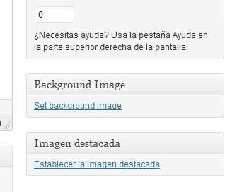 WP Post Background Plugin WordPress