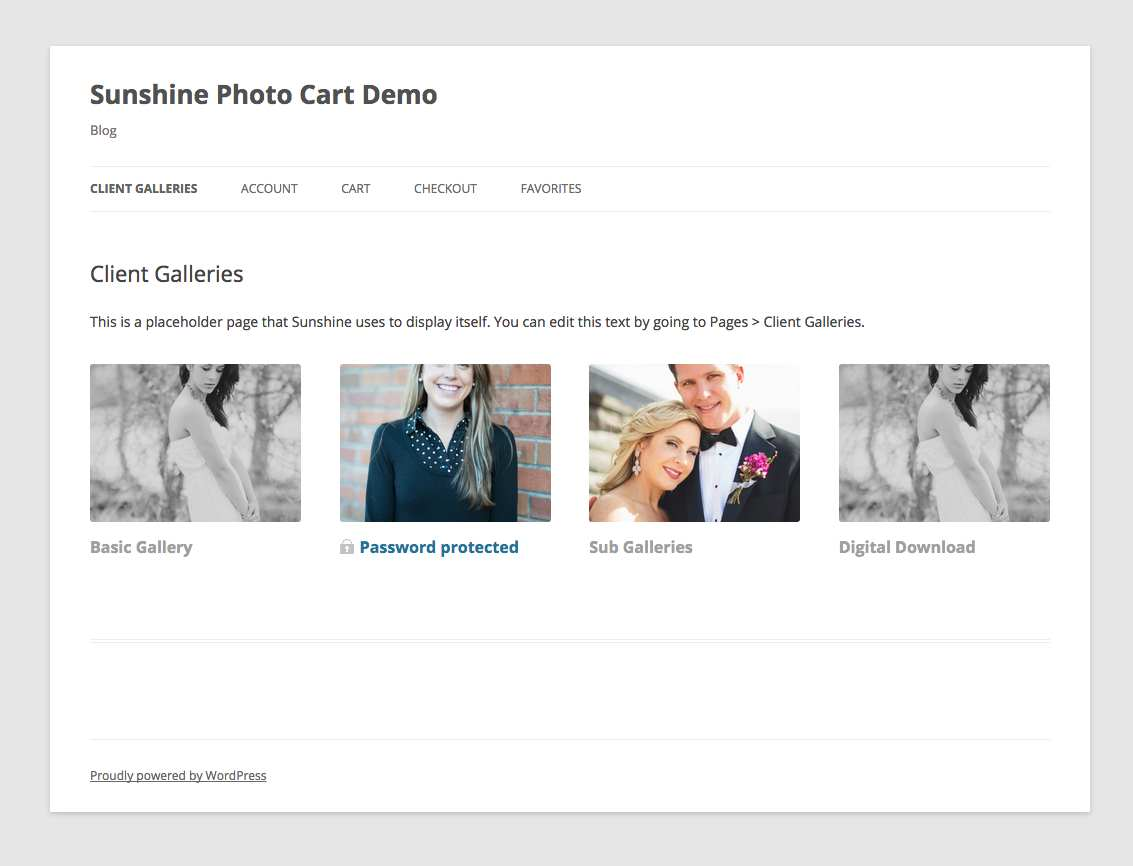 Sunshine Photo Cart Plugin WordPress, Download, Install