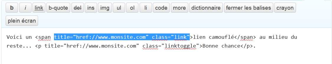 Tag to Link / Element to a Plugin WordPress, Download, Install