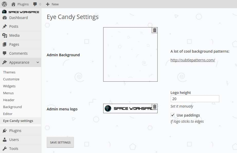Eye-candy theme by WordPress Monsters Plugin WordPress, Download, Install