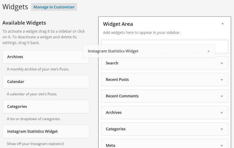 Instagram Statistics Plugin WordPress, Download, Install