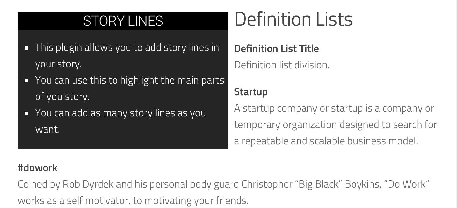 Story Lines Plugin WordPress, Download, Install