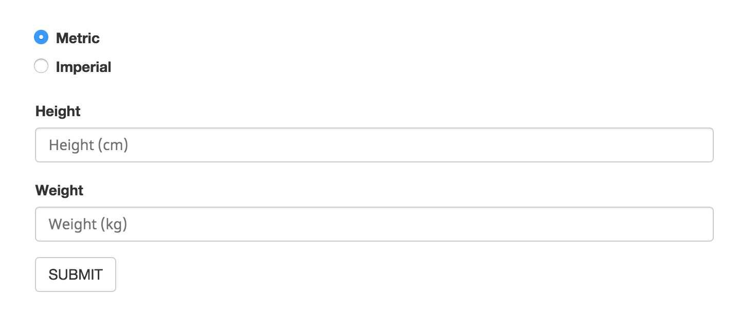 BMI Calculator Plugin Plugin WordPress