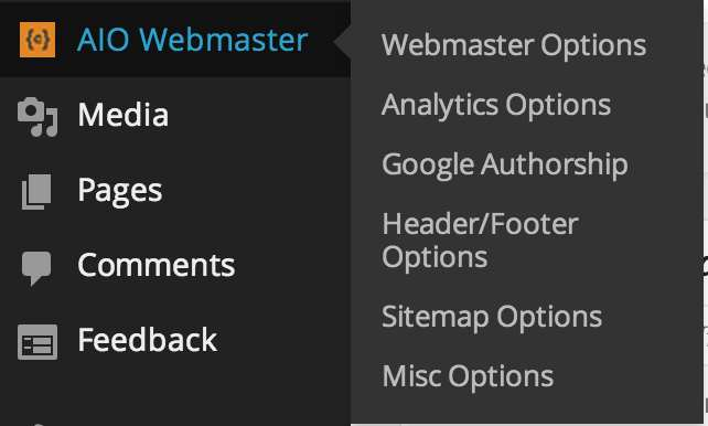 All in One Webmaster Plugin WordPress, Download, Install