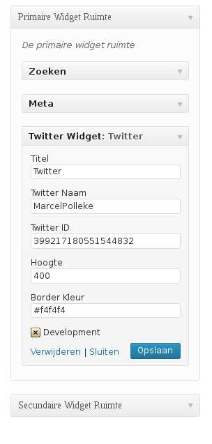 Twitter Widget with Styling Plugin WordPress, Download, Install