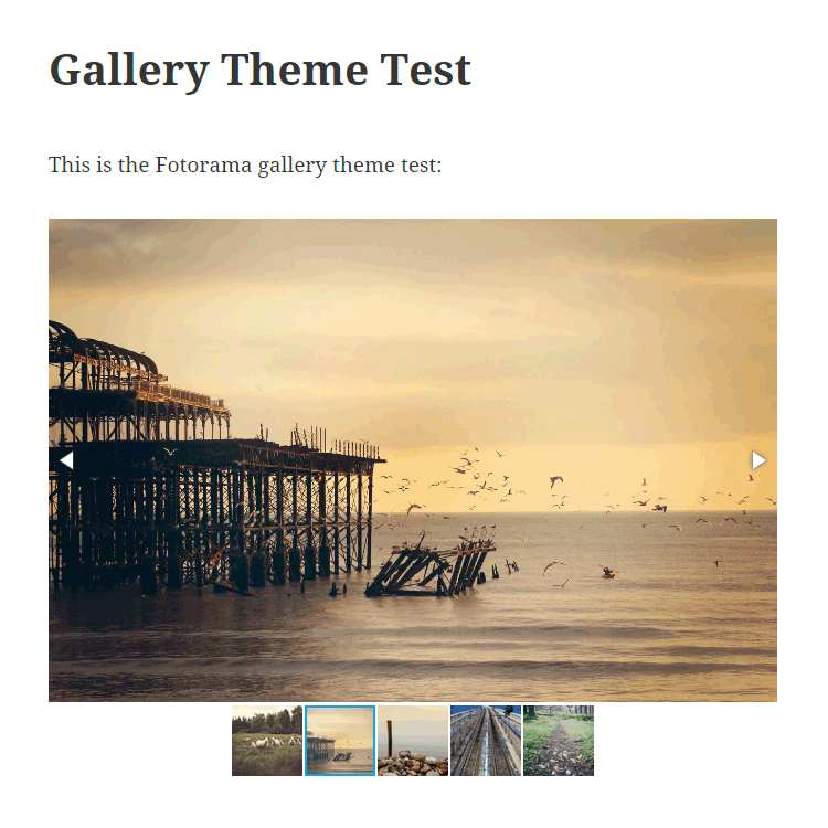Gallery Theme Plugin WordPress, Download, Install