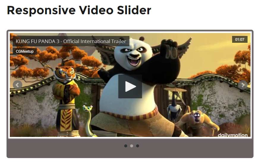 Responsive Video Slider Plugin WordPress, Download, Install