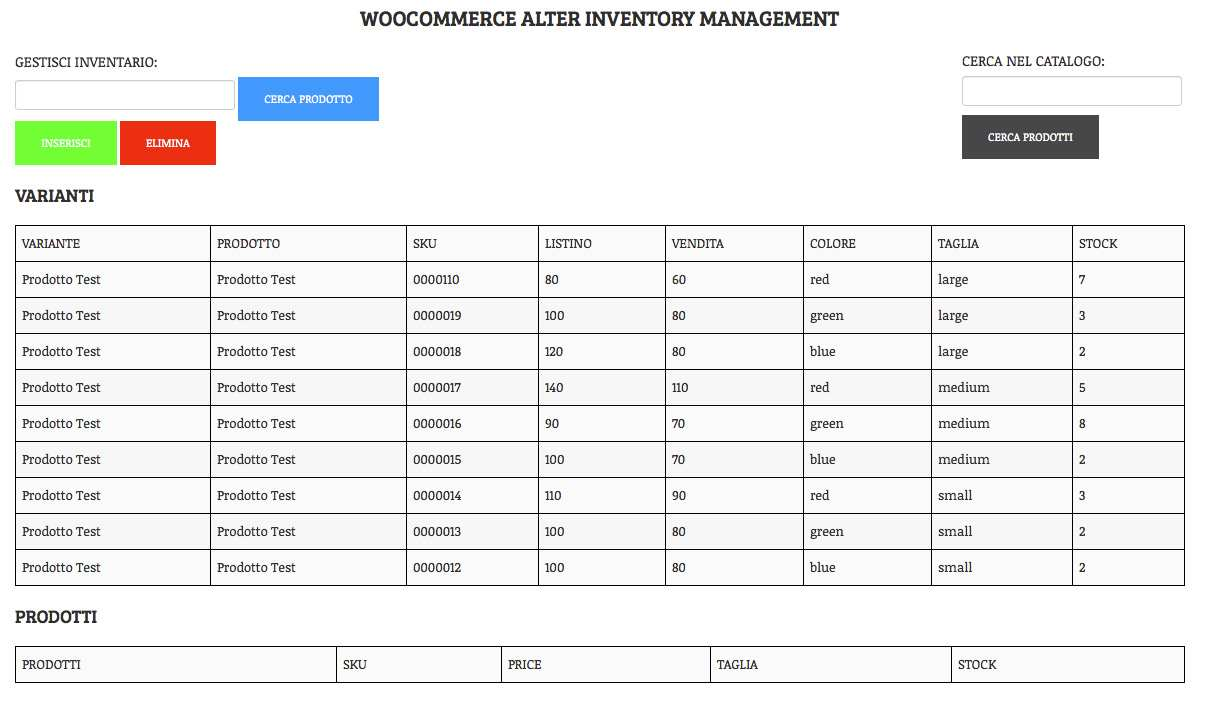 Alter Inventory – Woocommerce Plugin Plugin WordPress, Download, Install