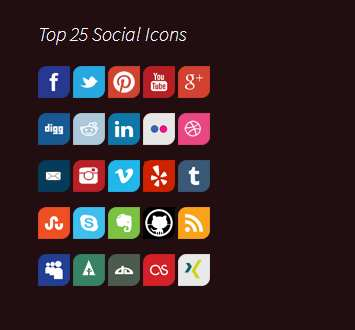 Top 25 Social Icons Plugin WordPress, Download, Install