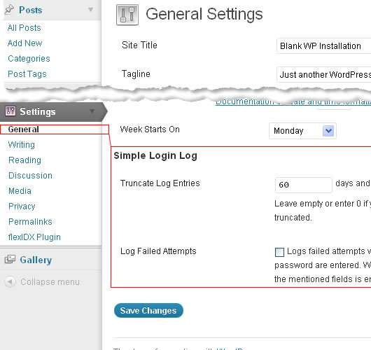 Simple Login Log Plugin WordPress, Download, Install