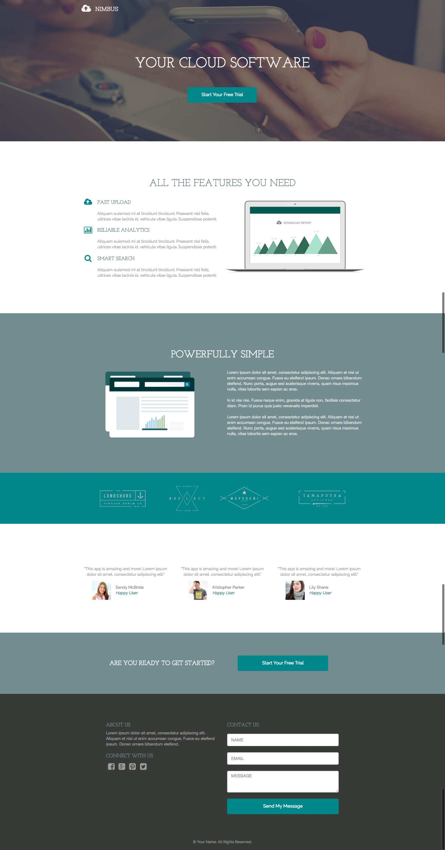 Free Landing Pages Builder by Wishpond Plugin WordPress