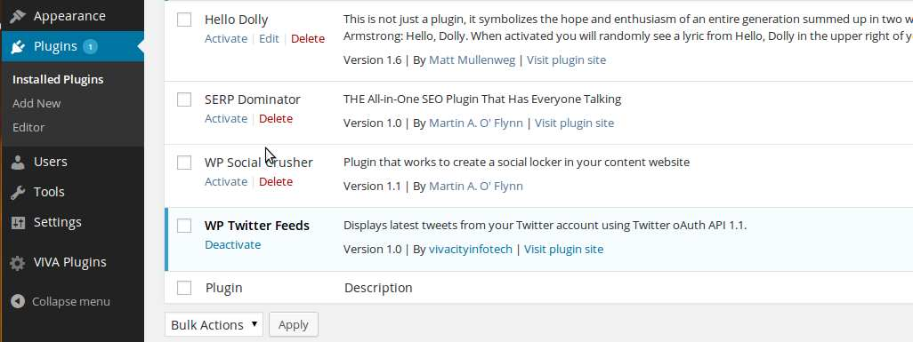 WP twitter feeds Plugin WordPress, Download, Install