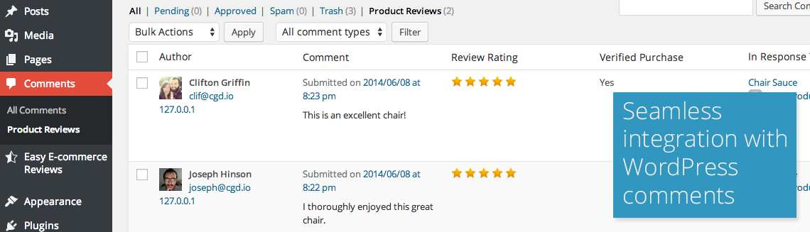 Easy E-commerce Reviews Lite Plugin WordPress, Download, Install