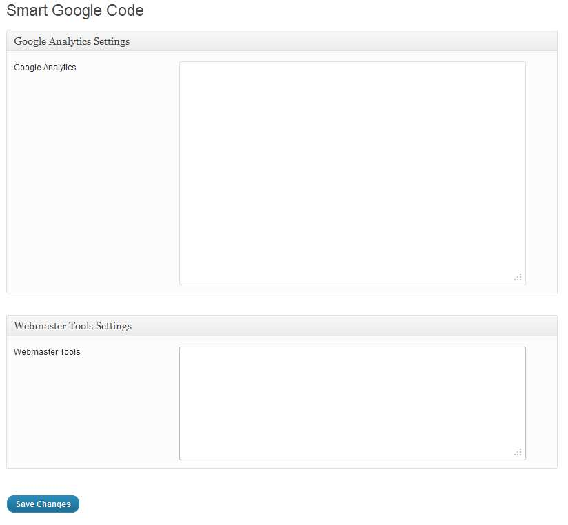 Smart Google Code Inserter Plugin WordPress, Download, Install