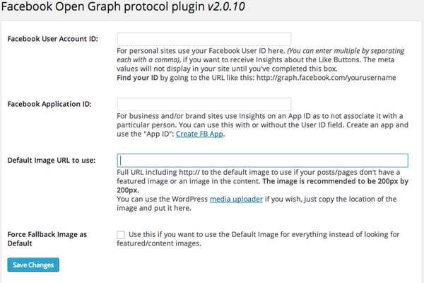 WP Facebook Open Graph protocol Plugin WordPress, Download, Install