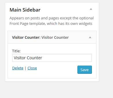 AA Visitor Counter Widget Plugin WordPress