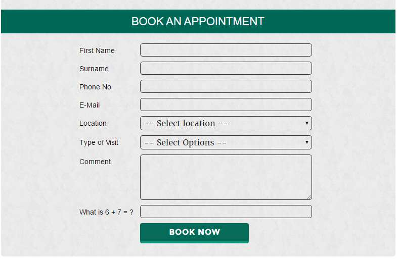 Appointment Form Manager Plugin WordPress