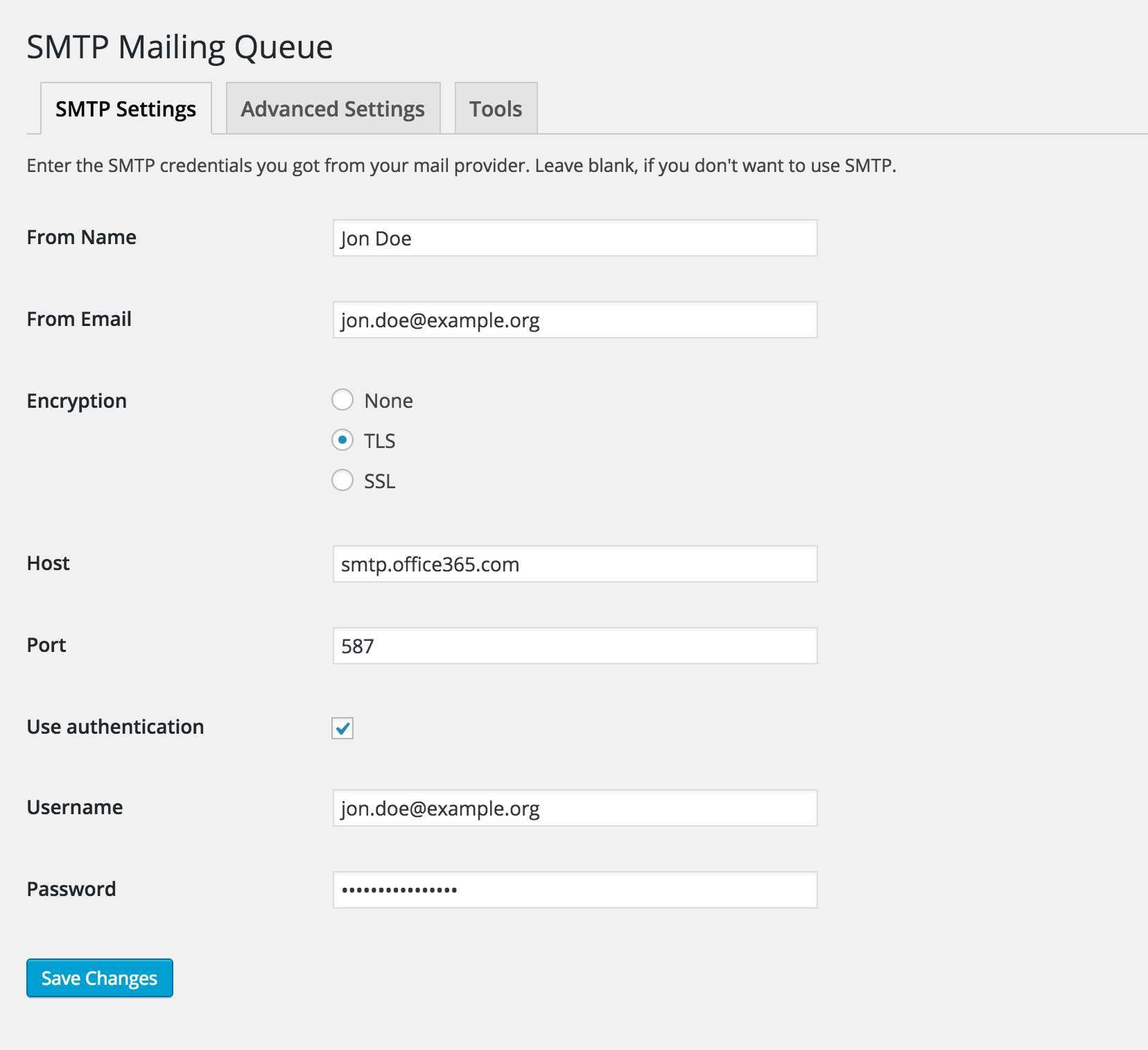 SMTP Mailing Queue Plugin WordPress, Download, Install