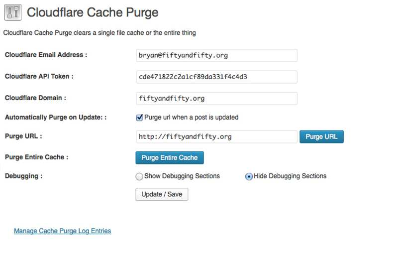 CloudFlare(R) Cache Purge Plugin WordPress, Download, Install