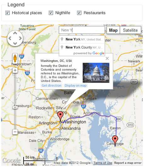 Google Maps CP Plugin WordPress