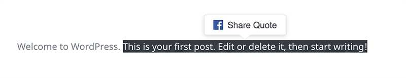 FB Quote Plugin For WP Plugin WordPress, Download, Install