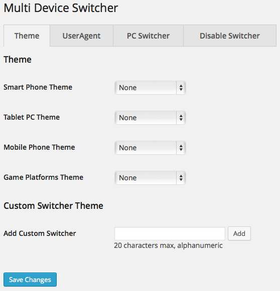 Multi Device Switcher Plugin WordPress, Download, Install