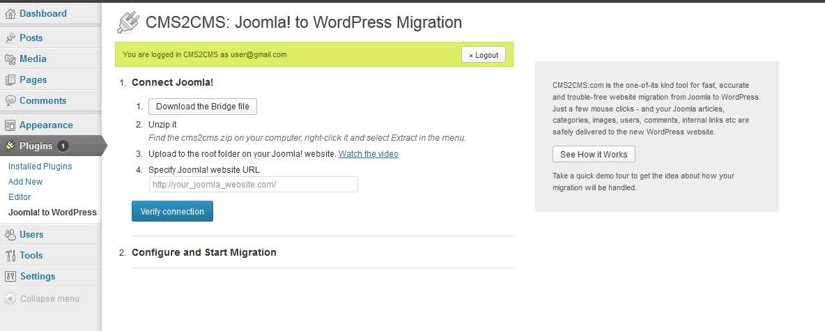 CMS2CMS: Plone to WordPress Migration Plugin WordPress