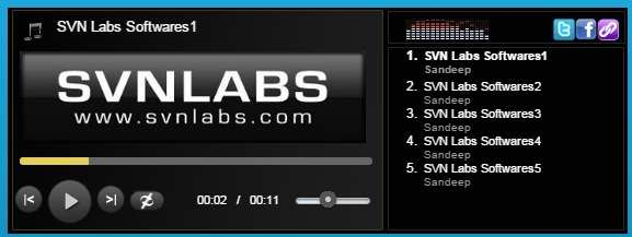 HTML5 MP3 Player with Playlist Free Plugin WordPress, Download, Install