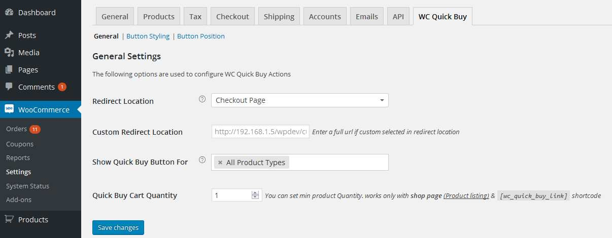 Woocommerce Quick Buy Plugin WordPress, Download, Install