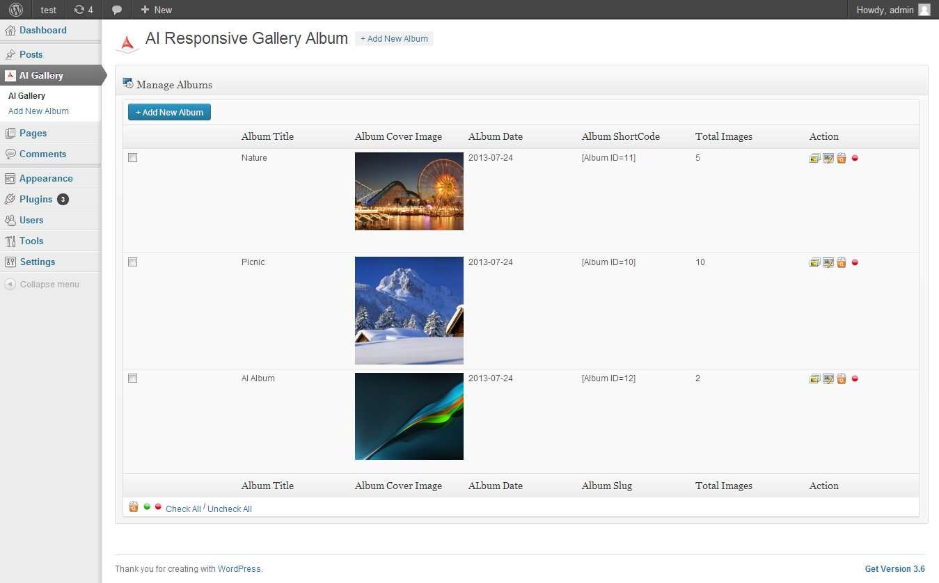 AI Responsive Gallery Album Plugin WordPress, Download, Install