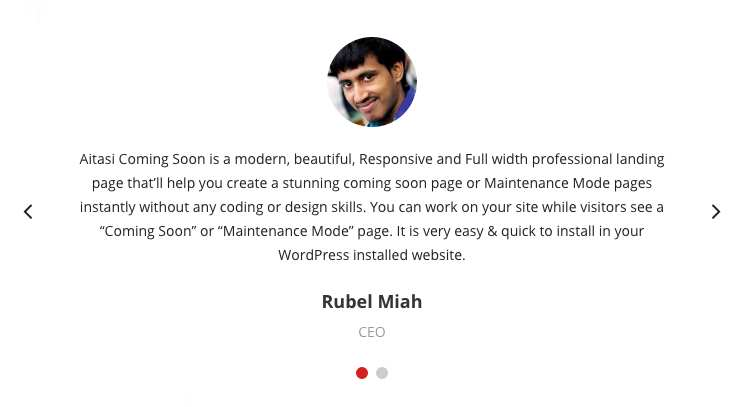 Testimonial Free Plugin WordPress