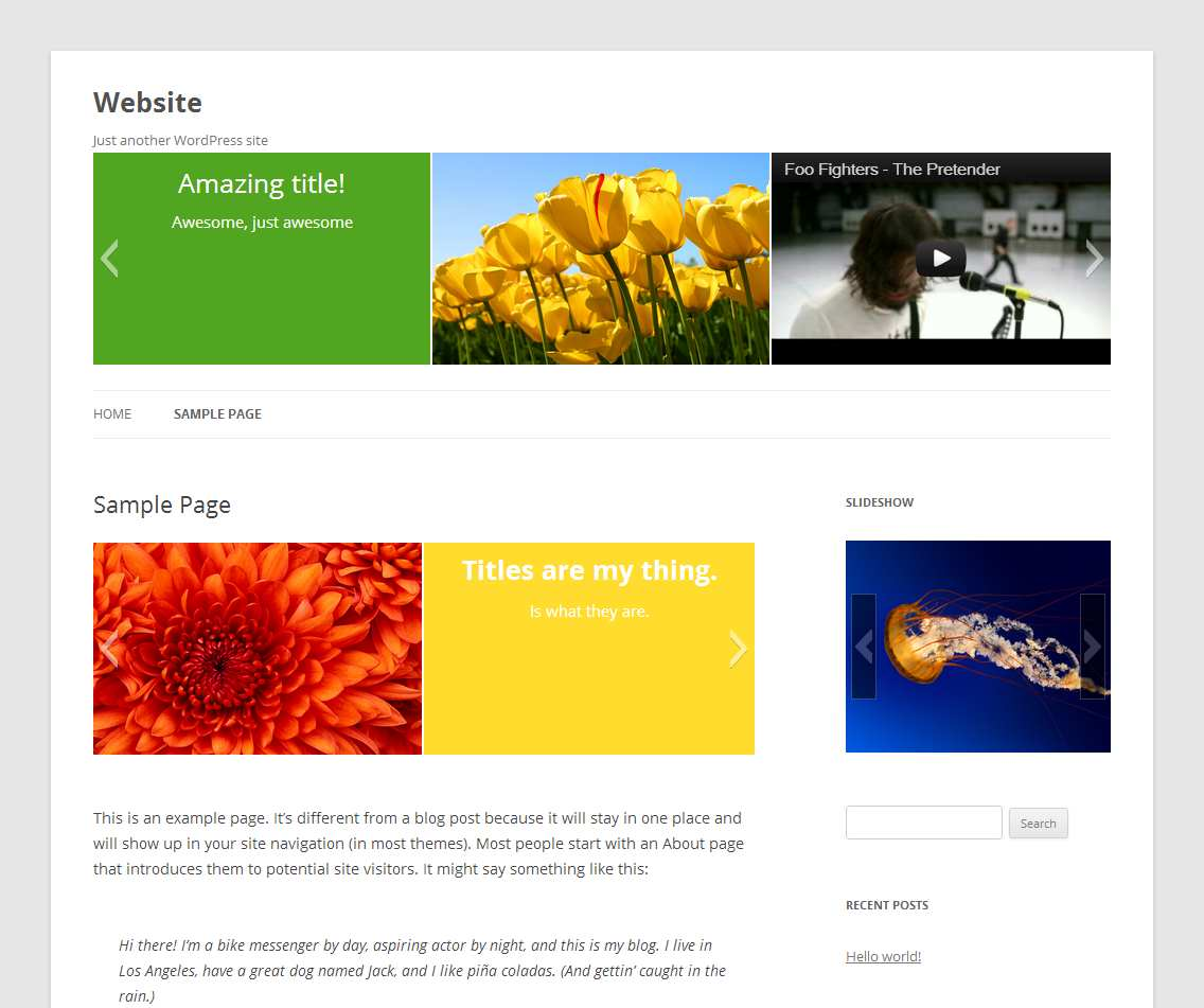 Slideshow Plugin WordPress, Download, Install
