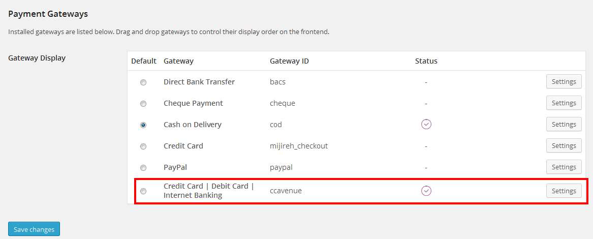 CCAvenue Payment Gateway Advanced for WooCommerce Plugin WordPress, Download, Install