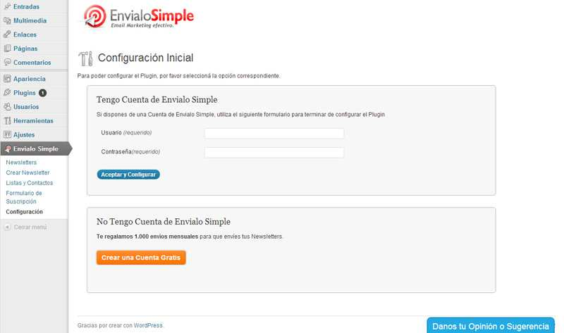 EnvialoSimple: Email Marketing y Newsletters Plugin WordPress, Download, Install