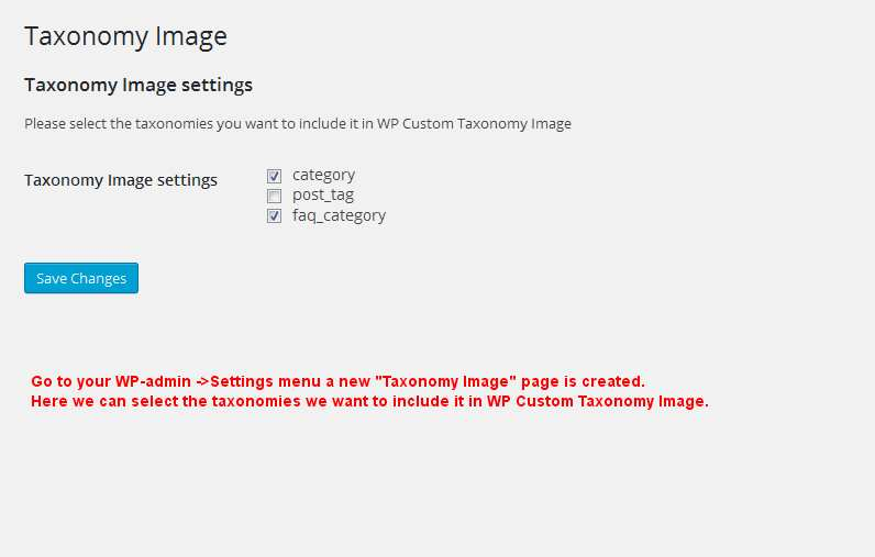 Category and Taxonomy Image Plugin WordPress, Download, Install