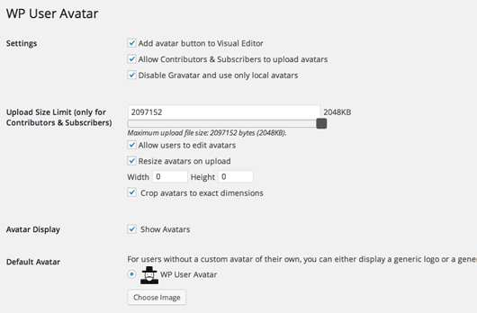 WP User Avatar Plugin WordPress, Download, Install