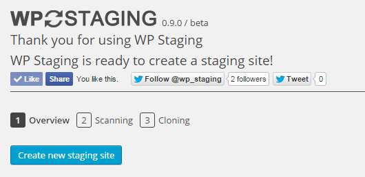 WP Staging – DB & File Duplicator & Migration Plugin WordPress, Download, Install