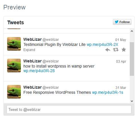 Twitter Plugin WordPress, Download, Install