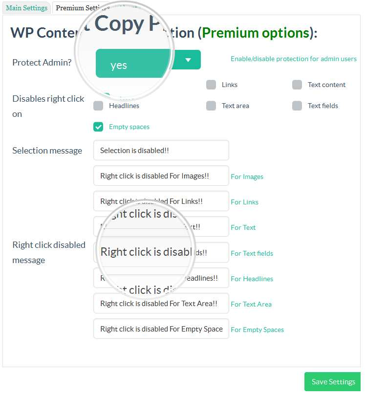 WP Content Copy Protection & No Right Click Plugin WordPress, Download, Install