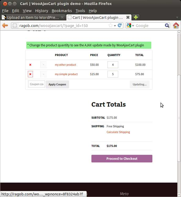 WooCommerce Ajax Cart Plugin Plugin WordPress