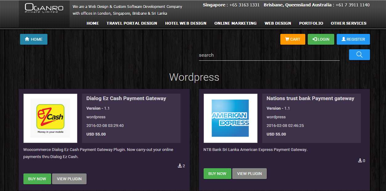 Payment gateway for nations trust bank sri lanka Plugin WordPress, Download, Install