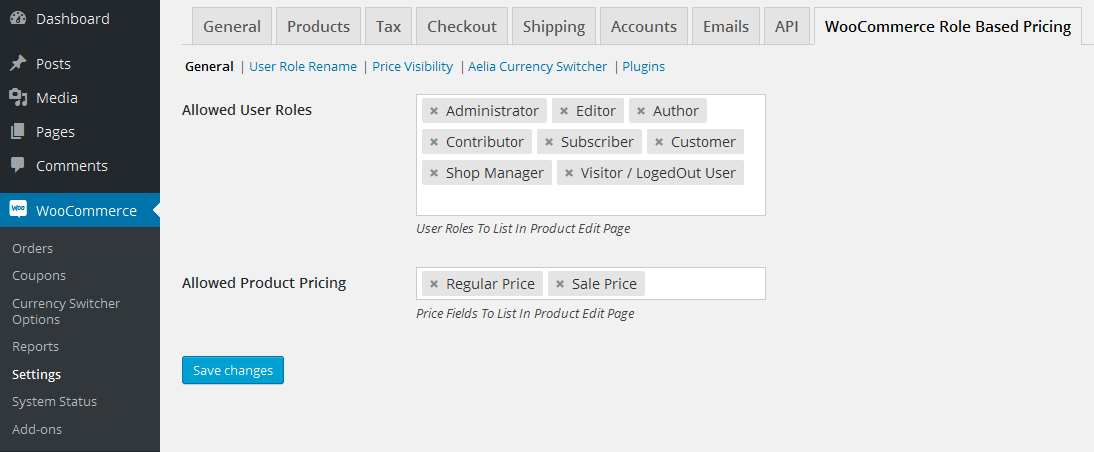 Woocommerce Role Based Price Plugin WordPress, Download, Install
