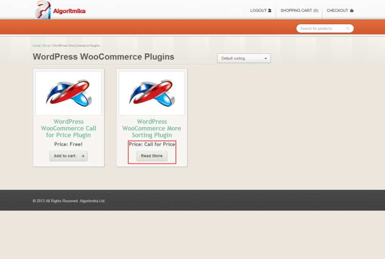 WooCommerce Call for Price Plugin WordPress
