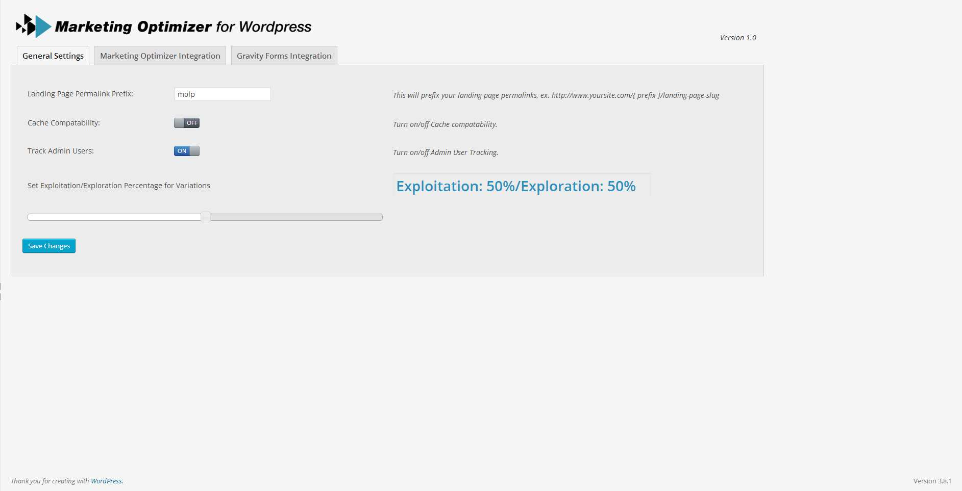 Marketing Optimizer for WordPress Plugin WordPress, Download, Install
